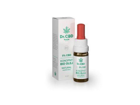 konopné kapky, CBD olej